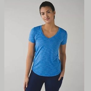 NWT Lululemon What the Sport Tee Size 6